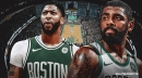 Kyrie Irving has no comment on Anthony Davis adding Celtics to list