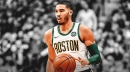 Celtics rising star Jayson Tatum isn't bothered by his name coming up in trade rumors