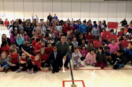 How Joe Tsai made one Charlotte school very happy