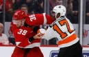 Detroit Red Wings' Anthony Mantha challenged to fight, gains respect