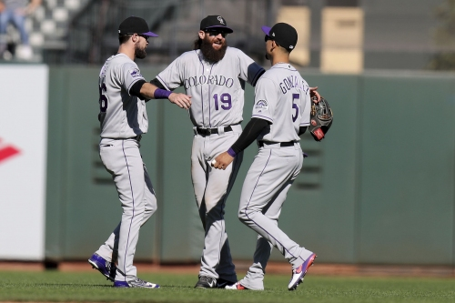 Rockies' Charlie Blackmon moving to right field, replacing CarGo