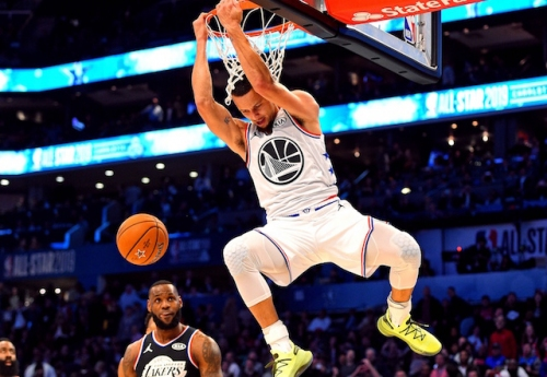 2019 NBA All-Star Game Charlotte: Steph Curry Considers Reverse Slam Dunk 'Redemption' For Slipping Against Lakers
