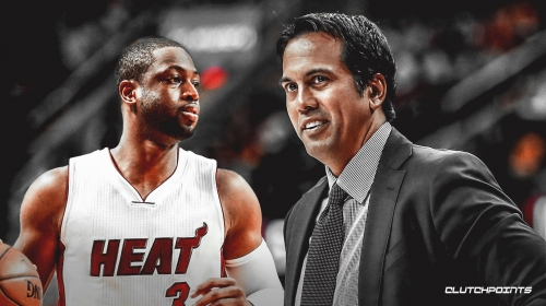 Heat coach Erik Spoelstra expected Dwyane Wade to have 'big-time fingerprints' in Miami's season