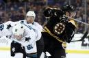 Bruins vs. Sharks 2/18/19 Projected LINES