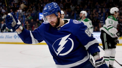 Lightning's Nikita Kucherov named NHL's No. 1 star of the week