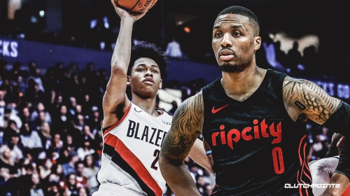 Damian Lillard hints at Blazers teammate Anfernee Simons' future Dunk Contest participation