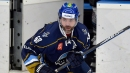 Jagr, back from injuries, plays in Czech second-league game