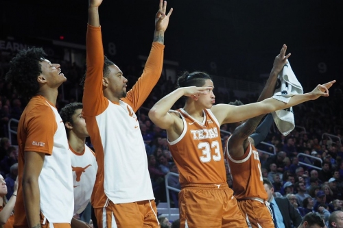 Texas F Kamaka Hepa in concussion protocol after practice injury