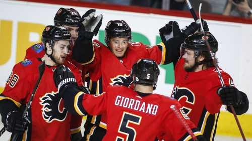 Mark Giordano leads Flames to win over Coyotes