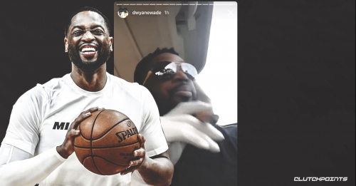 Video: Heat star Dwyane Wade smokes cigar on golf course after All-Star Game