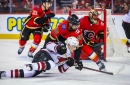 Coyotes fall to Flames for third time this season