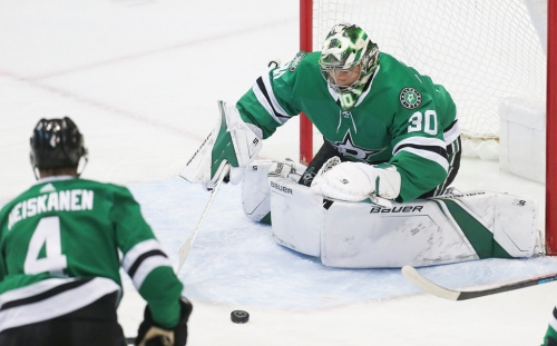 Why cautious Stars are in no rush to see Ben Bishop (upper body) back in net
