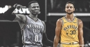 Warriors' Stephen Curry had similar vertical leap as Thunder's Russell Westbrook in Draft Combine