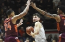 No. 3 Virginia completes season sweep of Virginia Tech, 64-58