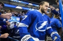 Victor Hedman leaves Lightning game against Columbus after first period