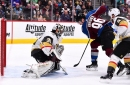 Year 2, Game 61: Golden Knights shut out by Avalanche, 3-0