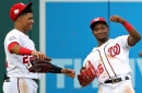 Davey Martinez on Juan Soto & Victor Robles in the Washington Nationals' 2019 outfield...