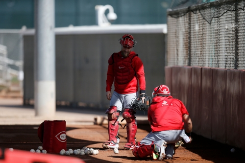 Spring Training report: 3 observations from the Cincinnati Reds' first full-squad workout