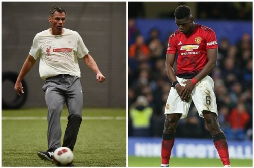 Liverpool FC great Jamie Carragher makes admission about Manchester United midfielder Paul Pogba
