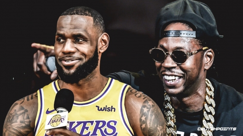 LeBron James works with 2 Chainz on new album