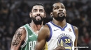 Knicks fan makes video of Warriors' Kevin Durant, Celtics' Kyrie Irving to Mario's 'Let Me Love You'