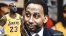 Stephen A. Smith says NBA stars want to beat LeBron James, not play with him