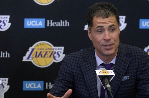 GM Rob Pelinka Confident Lakers Are Capable Of Making Playoffs, Being Team Opponents 'Wouldn't Want To See'