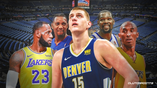 Nuggets' Nikola Jokic joins LeBron James, Kobe Bryant, Tracy McGrady and Kevin Durant in impressive feat
