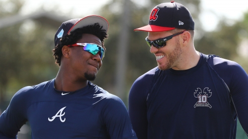 Photos: Faces of Braves' spring training