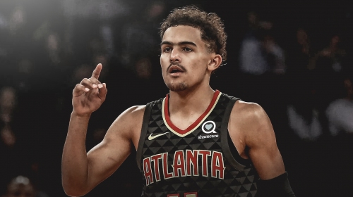 Hawks' Trae Young says he's grown 'tremendously' during rookie season