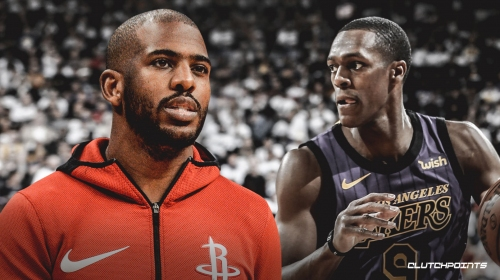 Rockets' Chris Paul isn't worried about facing Lakers guard Rajon Rondo for first time since their fight