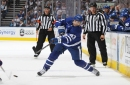 Toronto Maple Leafs Nazem Kadri Leaves Game with Concussion