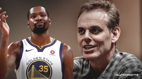 Colin Cowherd thinks Kevin Durant would join the GOAT discussion if he wins four straight titles with Golden State