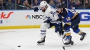 Slow start costs Maple Leafs a second point in road trip finale