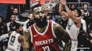 All-Star player defends James Harden's step-back move, but favors Giannis Antetokounmpo for MVP