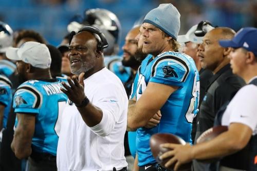 Panthers running backs coach Jim Skipper retires