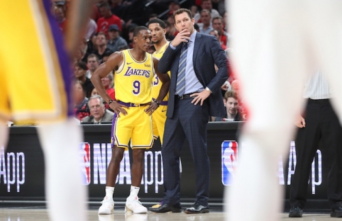 Lakers News: Rajon Rondo Praises Luke Walton's Competitiveness & Coaching Amid Persisting Job Security Rumors