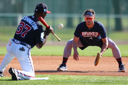 Braves have a lot riding on Josh Donaldson's toes. (Seriously.)