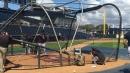 Troy Tulowitzki takes BP at Yankees spring training