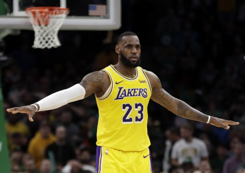 LeBron James plans to be 'a little bit different' as the Lakers make a playoff push