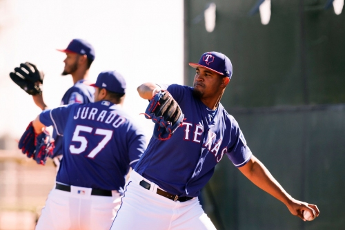 Why Ariel Jurado, Yohander Mendez will start Rangers' first spring training games