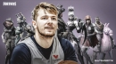 Mavs star Luka Doncic says he plays Fortnite in his offtime