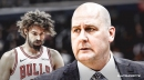 Bulls coach Jim Boylen, staff 'have not discussed' a diminished role for Robin Lopez