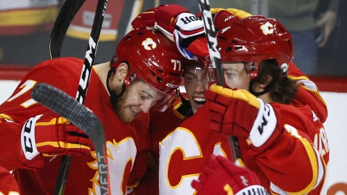 Flames' line change sparks complete team performance