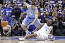 Duke star Williamson sprains knee after Nike shoe blows out