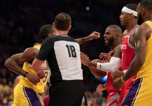 Rockets' Chris Paul Downplays Facing Rajon Rondo, Lakers For First Time Since Brawl