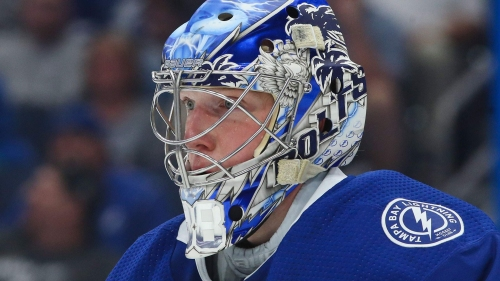 Lightning goalies express their personalities with mask design