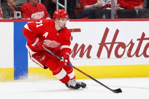 Detroit Red Wings' young stars dig in, hint at promise for future