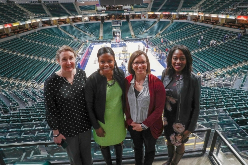 Meet the Pacers' highest-ranking women: An NBA team that is gender blind