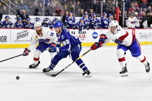 Laval @ Syracuse recap & highlights: Weise scores, Rocket fall to the Crunch